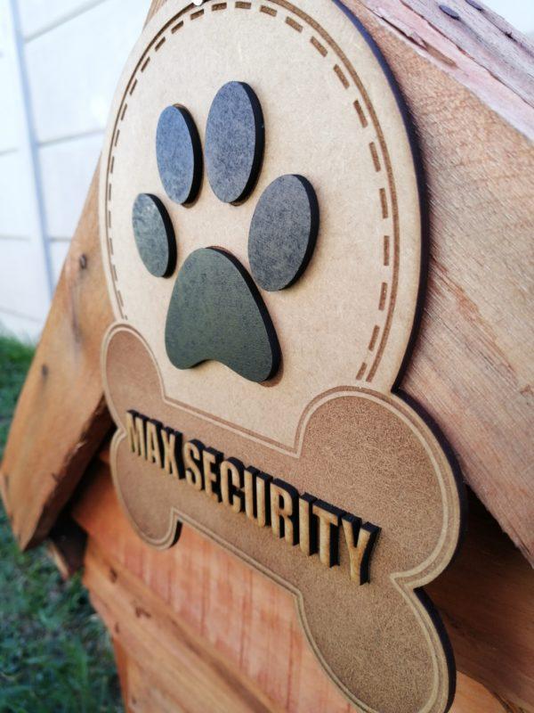 Dog House Sign